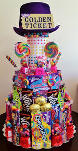 Best Food Gift Baskets Best 25 Candy Gift Baskets Ideas On Pinterest Candy Baskets