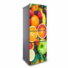 stickers porte cuisine yazi flower pvc self adhesive refrigerator door sticker wallpaper