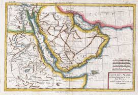 Horn Of Africa Map by Vintage Maps Of The Arabian Peninsula International History Blog