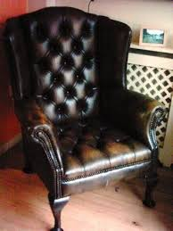 Winged Armchairs For Sale Best 25 Leather Wingback Chair Ideas On Pinterest Cigar Lounge
