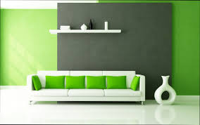 Wohnzimmer Design Wandgestaltung Charmant Wandgestaltung Wohnzimmer Grün 100 Ideen Für In Archzine