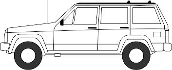 1988 jeep comanche white cherokee comanche lineart jeep cherokee forum