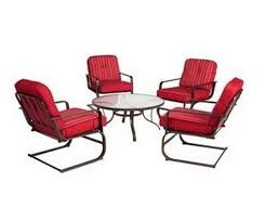 Red Patio Set by Comfy Patio Furniture Amazon Com