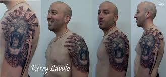 tattoo lion roar cross christian sun daniel 6 23 kerry lav