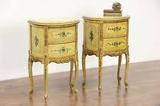 Antique Nightstands With Marble Top Marble Antique Nightstands Ebay