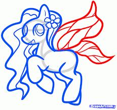 how to draw a fairy pony my little pony friendship is magic step
