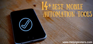 best mobile automation tools list of 14 tools which are best for