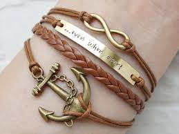 bracelet best images Set of two long distance bracelet engraved matching bracelets jpg