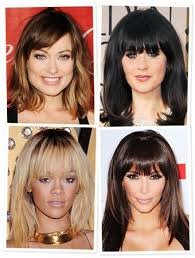 celebrity hairstyle vizualizer thinking about bangs try them virtually instyle com