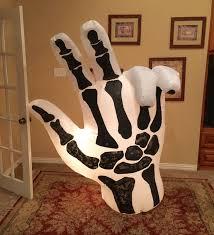 Halloween Skeleton Hands Image Gemmy Prototype Halloween Skeleton Hand Inflatable