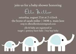 create elephant baby shower invitations templates ideas u2014 all