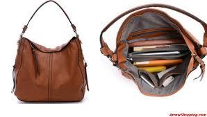 arrow large women leather purse bag cross body shoulder bag 9878794