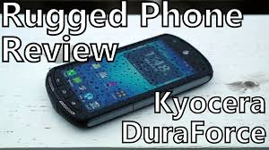kyocera android smartphone review kyocera duraforce on at t rugged and