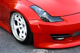 red nissan 350z modified al u0027s nissan 350z top tier imports