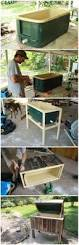 Outdoor Patio Cooler Cart by 27 Diy Reclaimed Wood Projects For Your Homes Outdoor Cooler