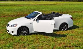 convertible lexus hardtop road test review 2014 lexus is350c f sport convertible coupe