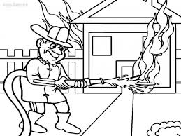 firefighter badges coloring pages youtuf com