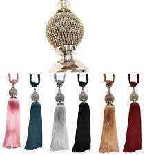Large Drapery Tassels Tassel Tie Backs Curtain U0026 Blind Accessories Ebay
