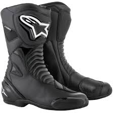 waterproof motorcycle touring boots alpinestars smx s waterproof black boots motocard
