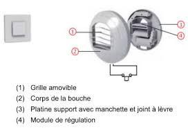 bouche d extraction vmc cuisine ventilation reseaux de vmc flux simuler le coût de
