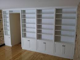 furniture tall bookcase with doors inspirational bookcase doors