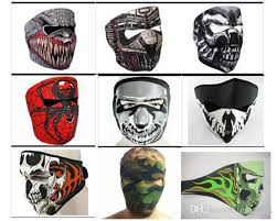 cool masks 9 styles designed skull motorcycle mask cool outdoor