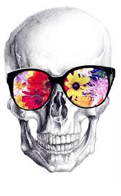 3d snake and tropical flowers tattoo tropical flowers and skull