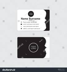 Email Business Card by Vector Modern Business Card Design Stock Vector 514676317