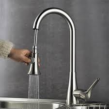 accessoire robinet cuisine montage mitigeur un trou with nickel brossé robinet de cuisine