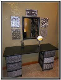 Makeup Vanity Ideas Makeup Vanity Ideas Home Design Ideas