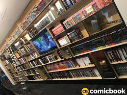 comic book shelves a look inside marvel studios amazing headquarters