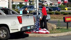 Veterans Flag Depot The Flag Should Never Touch The Ground U0027 Veterans Angered By The