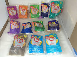 beanie babies online price guide amazon com ty beanie babies 1998 complete set of 12 mcdonald u0027s