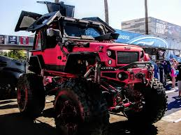 badass lifted jeep wrangler 17 of the most badass custom trucks from sema 2016
