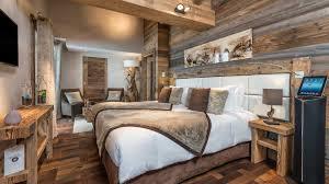 chambre montagne deco chambre chalet montagne images avec deco chambre chalet