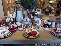 pottery barn christmas table decorations christmas tablescapes with pottery barn