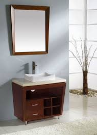 Unique Bathroom Mirror Frame Ideas Bathroom 2017 Unique Bathroom Vanity Mirrors Cherry Wood Finish