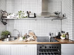 kitchen trendy scandinavian kitchen design white gloss kitchen