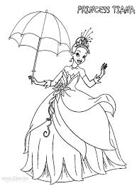 disney princess tiana coloring pages getcoloringpages