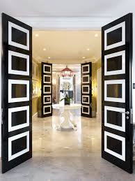 you guessed it the perfect front door can make or break your home white black doors regency decor entrance marble tiles floor yellow white better decorating bible blog