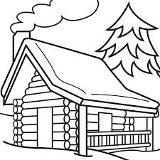 log cabin drawings cartoon log cabin fishing search clip art illustration murals
