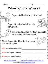 paragraph stories for reading comprehension reading comprehension who what where reading comprehension