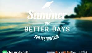 videohive summer slideshow free after effects template free