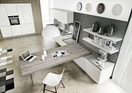 cuisine blanche et grise quelle peinture pour cuisine blanche moderne