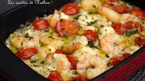 plat cuisiné au four scis à l ail feta et tomates cerise au four recette par ma