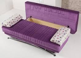 futon sofa bed with storage import direct furniture black