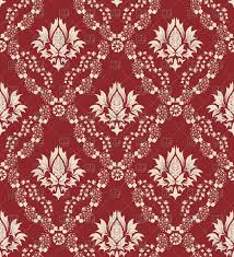 seamless antique pattern victorian style wallpaper vector