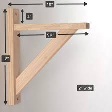 Making Wooden Bookshelves by Best 25 Shelf Brackets Ideas On Pinterest Wood Shelf Shelves