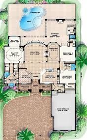 Mediterranean Floor Plan 293 Best Home Design Blueprints Images On Pinterest House Floor