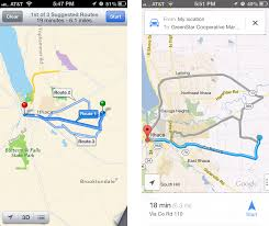 G00gle Map Comparing Apple U0027s Maps And Google Maps Tidbits